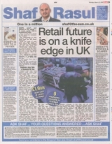 Retail future is on a knife edge in in UK
