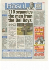 £10 separates the Men from the Del Boys