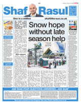 Snow hope without late season help