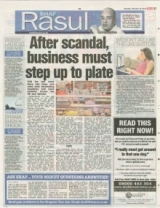 After scandal business must step up to plate