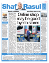 Online sho may be goodbye to stores