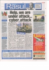 Help, we are under attack....Cyber attack.