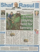 We need a level playing field for farming.