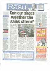 Can our Shops weather the sales storm?