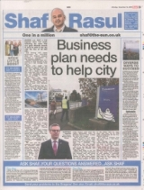 Business plan needs to help city