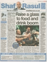 Raise a Glass to food and drink boom