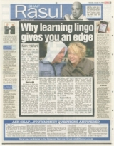 Why learning the lingo gives you an edge