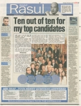 Ten out of ten for my top candidates