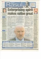Enterprising Spirit Makes This Nation Great.