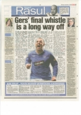 Gers' Final whistle is a Long way off.