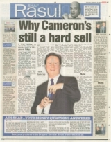 Why Cameron's still a hard sell