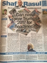 Can new year Trump 2017 for headlines?