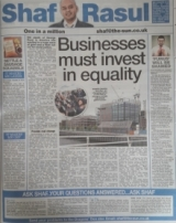 Businesses must invest in equality