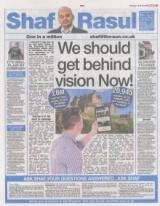 We should get behind vision Now