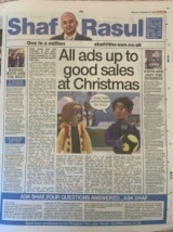 All ads up to good sales at Christmas