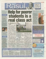 Help for Poorer students is a real Class Act