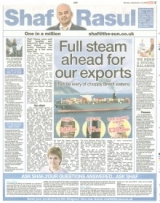 Full steam ahead for our exports