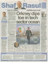 Orkney dips toe in tech sector.