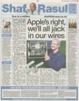 Apples Right we will all jack in our wires
