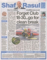 Forget club 18 to 30 Go for a clean break