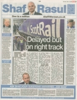 Scotrail Delayed but on the right track