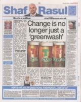 Change is no longer just a greenwash