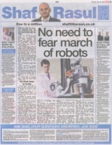 No need to fear march of robots.
