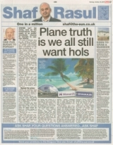 Plane truth is we all still want hols.