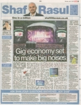 Gig economy set to make big noises.