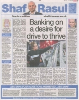 Banking on a desire for drive to thrive