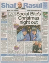 Social Bites Christmas Night Out