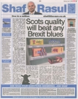 Scots quality will beat any Brexit blues.