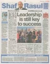 Leadership is still Key to success.