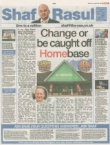 Change or be caught off Homebase