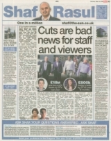 Cuts are bad news for staff and viewers