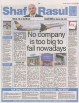 No company is too big to fail....