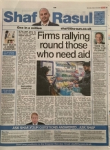 Firms rallying round those who need aid