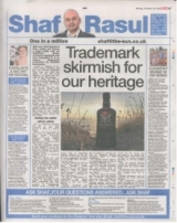 Trademark skirmish for our heritage