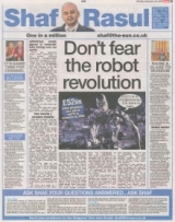 Dont forget the robot revolution