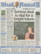 School deal is vital for bright future