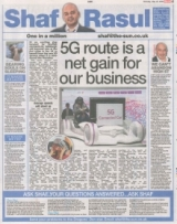 5G route is a net gain for our business