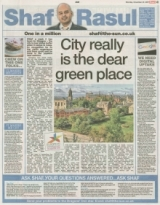 City really is the dear green place.
