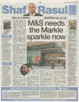 M&S needs the markle sparkle
