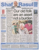 Our old folk are an asset not a burden.
