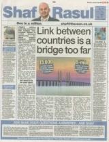 Link between countries is a bridge too far.