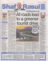 All roads lead to a greener tourist drive