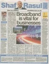 Broadband is vital for businesses