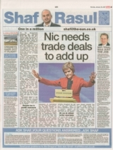 Nicola Sturgeon needs trade deals to add up.