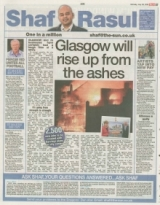 Glasgow will rise up from the ashes.