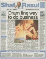 Dram fine way to do business